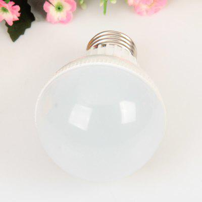 E27 18 - SMD 2835 LED 5W 85 - 265V Warm White Ball BulbGlobe bulbs<br>E27 18 - SMD 2835 LED 5W 85 - 265V Warm White Ball Bulb<br><br>Available Light Color: Warm White<br>Bulb Base Type: E27<br>Features: Long Life Expectancy, Low Power Consumption, Energy Saving<br>Function: Home Lighting, Commercial Lighting, Studio and Exhibition Lighting<br>Output Power: 5W<br>Package Contents: 1 x Light Bulb<br>Package size (L x W x H): 7 x 7 x 13 cm<br>Package weight: 0.120 kg<br>Product size (L x W x H): 6 x 6 x 11 cm<br>Product weight: 0.060 kg<br>Sheathing Material: Plastic<br>Total Emitters: 18 x 2835 SMD LED<br>Type: Ball Bulbs<br>Voltage (V): AC85-265