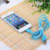 Portable Style 1M Fabric  8 Pin to USB Charger Sync Data Cable for iPhone 5 / 5S / 5C for sale