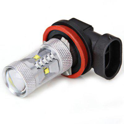 H8-30W 5W Cree x 6Pcs LEDs Car Light White Light Fog Light - 10V-24V