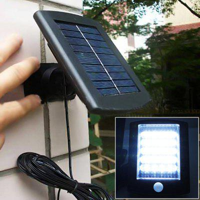 CIS-57194 Solar Power 200Lm 36 LEDs Motion Sensor PIR Wall Mounted Lamp Garden Lamp