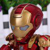 best Super Cool American Hero Funny Body Design Funny Appearence Iron Man with Movable Joints Figure Model Q Version