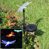 CIS-57254A Solar Powered Dragonfly Garden Decor Lamp Lámpara de Estaca