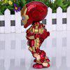 Super Cool American Hero Funny Body Design Funny Appearence Iron Man with Movable Joints Figure Model Q Version - RED