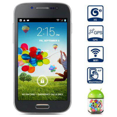 Y9190+ 4.0 inch Android 4.2 3G Smart Phone MTK6572 Dual Core 1.2GHz 4GB ROM WVGA IPS Screen 5MP Camera WiFi GPS