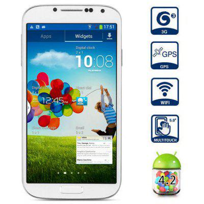 NO.1 S6 5 inch Android 4.2 3G Phablet MTK6589 Quad Core 1.2GHz HD 720 IPS OGS 1GB RAM 4GB ROM GPS WiFi Gesture Activation