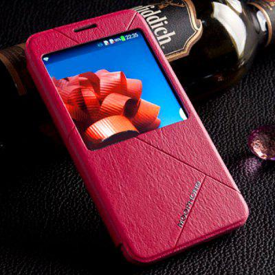 Classical Series Cover Case with View Window Design for Samsung Galaxy Note 3 N9000 / N9002 / N9006 / N9008