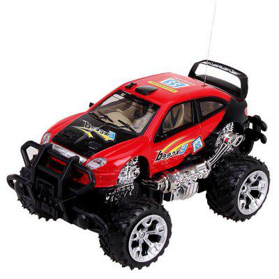 Chistmas Gifts New Simulation Kids Toy Infinitely Speeds High Speed Red Mini Music and LED Light RC Car Model Toy