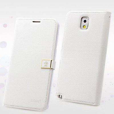 Hello Deere Ailun Series PU Leather + TPU Cover Case for Samsung Galaxy Note 3 N9000 / N9002 / N9006 / N9008 with Card Holder
