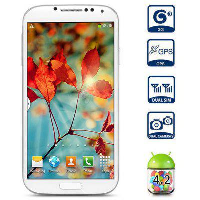Buy WHITE GUOPHONE G9502L 5.0 inch 3G Phablet MTK6589 Quad Core 1.2GHz 1GB 4GB QHD Screen Gesture Sensing 8.0MP Camera GPS for $81.87 in GearBest store