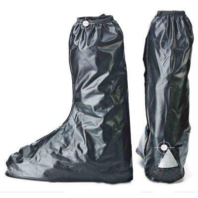 Waterproof Slip - resistant and Thickening Design Tights Highs Rain Shoes Cover for Men