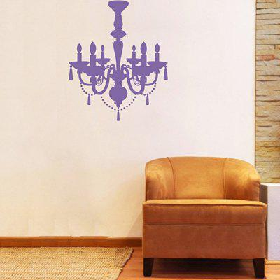 DIY Home Decoration Wall Stickers Art Mural with Pendant Lamp Pattern