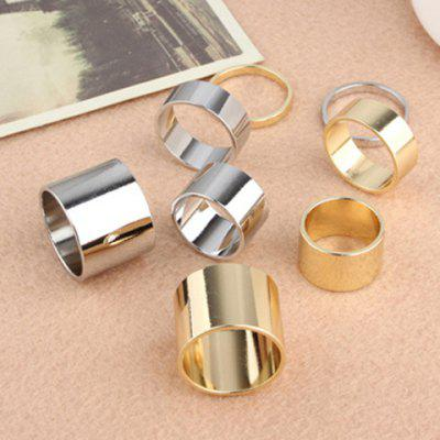 4PCS of Alloy Knuckle Index Finger Rings