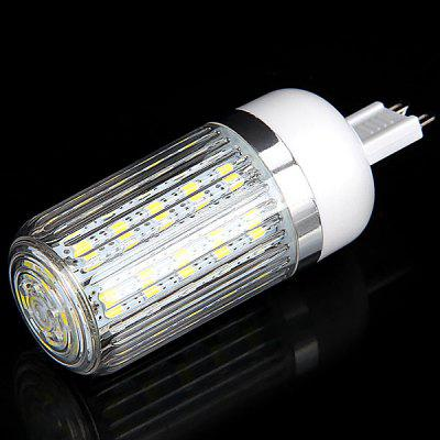 G9 36 x 5730 SMD LED 12W 1050 Lumens 110V Corn Light with Stripe Lamp Shade (White Light)