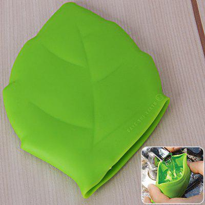 Convenient Leaf Shaped Silicone Pocket Cup Environment Protecting