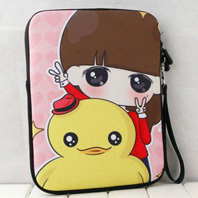 Fashionable and Cute Xiao Xi with Duck Style Soft Material Protective Pouch Bag for iPad Mini