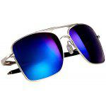 Valentine Stylish Sunglasses with Polarized Lens and Comfortable High-nickel Alloy Frame - BLUE