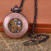 Round Shape Design 12 Arabic Numbers Indicate Vintage Mechanical Flip Pocket Watch deal