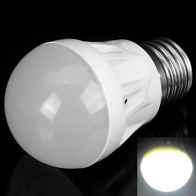 E27 3W 10 x 2835 SMD LED AC85 - 265V 300lm Ball Bulb