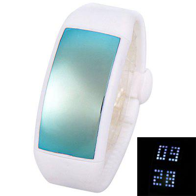 Personalized Signature 3D Pedometer Smart LED Unisex Watch with 8G SD Card