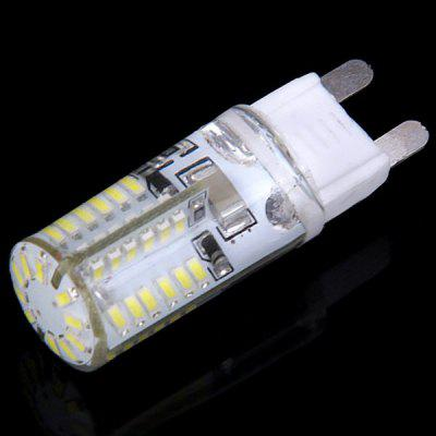 G9 58Pcs 3014 SMD LEDs 6W 220V White Light Corn Lamp