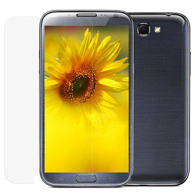 Wriol M Series Anti-fingerprint Dull Polish Design Screen Protector Film for Samsung Galaxy Note 2 N7100