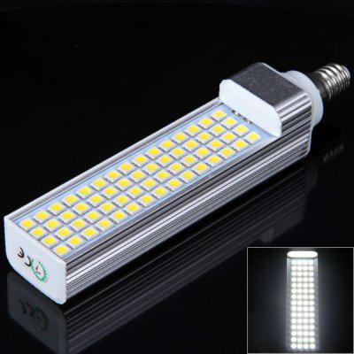 E14 60Pcs 5050 SMD LED AC85 - 265V 6000 - 6500K White Corn Lamp