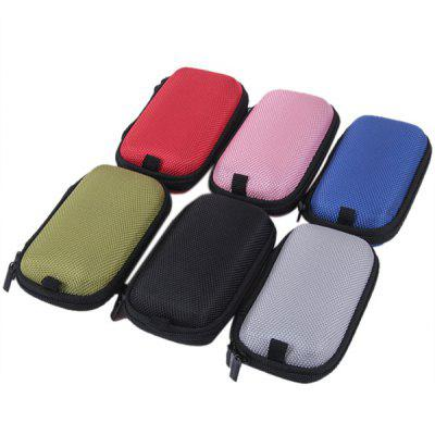 6pcs/Set Mini Compact Zip Storage Cases Boxes Organizer for Ego Electronic Cigarette
