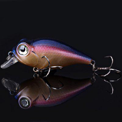 1PCS 10g 6.5cm Deep Promotion Hard Plastic Fishing Lure Bait with Hook