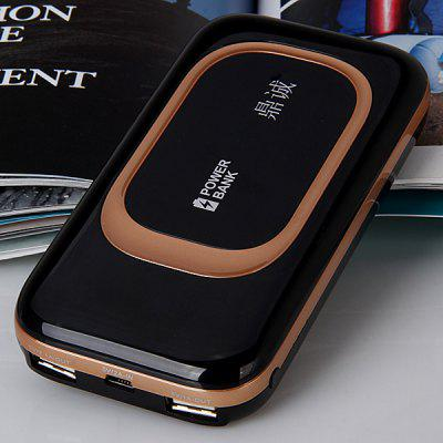 HUAMEN Dual USB Ports 8000mAh Power Bank for Samsung Galaxy S4 i9500 / S3 i9300 / Note 2 N7100 HTC Nokia etc