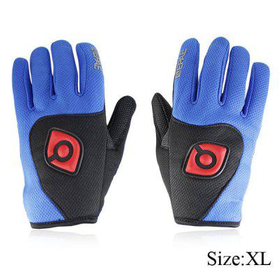 2PCS XL Size Silicone Full Finger Cycling Gloves