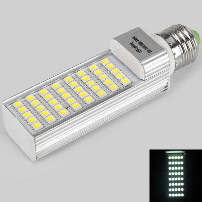 E27 Alluminum Housing 4 x 11 SMD 5050 LED 9W Corn Light Blub (220 - 245V, 6000 - 6500K, White Light)