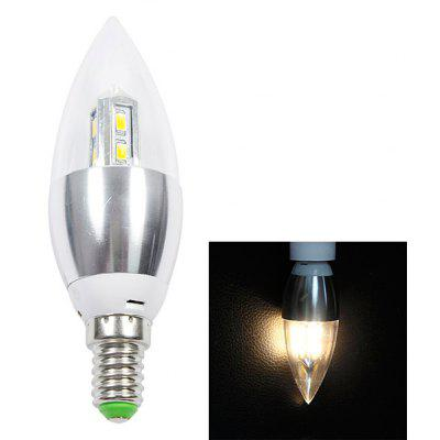 Buy E14 280lm 4W 8 SMD 5630 LED AC85 265V 2700K Warm White LED Candle Light for $2.58 in GearBest store