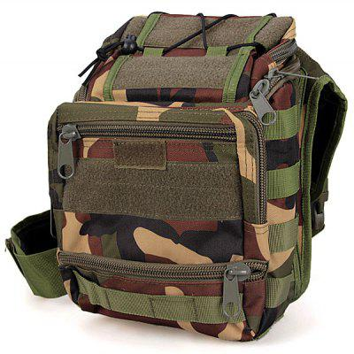 Military Style Waterproof Tools Shoulder Bag Large Saddle Bag for Outdoor Sports