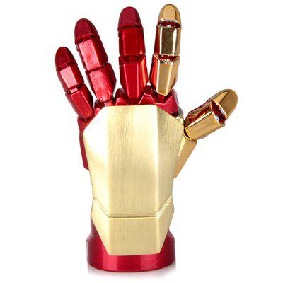 16GB Iron Man Robot Flexible Palm Shaped USB Flash DiskUSB Flash Drives<br>16GB Iron Man Robot Flexible Palm Shaped USB Flash Disk<br><br>Available Color: Red<br>Capacity: 16G<br>Compatible with: Computer<br>Features: Cartoon<br>Interface: USB 2.0<br>Package Contents: 1 x USB Flash Memory<br>Package size (L x W x H): 16 x 11 x 3 cm<br>Package weight: 0.090 kg<br>Product size (L x W x H): 7.0 x 3.0 x 1.6 cm/2.8 x 1.2 x 0.6 inches<br>Product weight: 0.028 kg<br>Style: Cool<br>Type: USB Stick