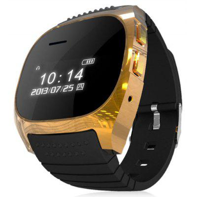 RWATCH M18 LCD Bluetooth Watch with Digital Display Elliptical Dial Silicon Watch Band for Android Phones