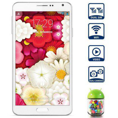 HTM S300 5.6 inch Phablet Unlocked Phone SC8825 Dual Core 1.0GHz 4GB ROM WVGA Screen Dual Cameras