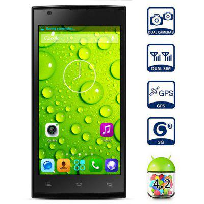 ZOPO ZP780 Android 4.2 3G Phablet with 5.0 inch QHD IPS Screen MTK6582 Quad Core 4GB ROM GPS OTG Dual Camera