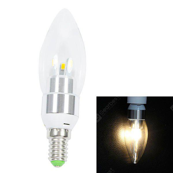 WARM WHITE E14 200lm 3W 6 SMD 5630 LED AC220V 2700K White LED Candle Light