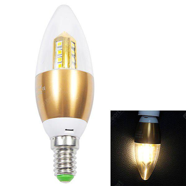 E14 280lm 4W 16 SMD 2835 LED Warm White Candle Light 85 265V