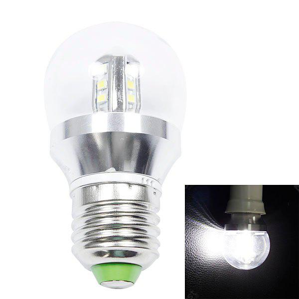 E27 300lm 4W 16 - SMD 2835 LED AC85 - 265V 6000K White LED Ball Bulb