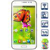 JIAKE G910 Android 4.2 Phablet Unlocked Phone with 5.0 inch WVGA Screen MTK6572 Dual Core Dual Camera - WHITE