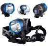 SingFire SF - 90 Cree XM - L T6 4 Modes 1000lm 18650 LED Headlamp with Battery and Charger - BLUE