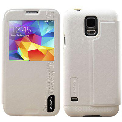 USAMS Merry Series PU + PC Cover Case with Stand for Samsung Galaxy S5 i9600 SM - G900
