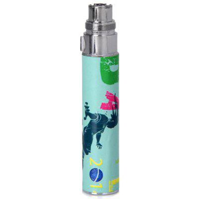 A Jumper Appearance 650mAh Rechargeable Lithium Battery for Electronic Cigarette