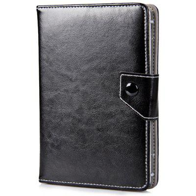 Foldable Stand Function Design Adjustable Elastic Foot Pattern Artificial Leather Material 7 inch Tablet PC Protective Case