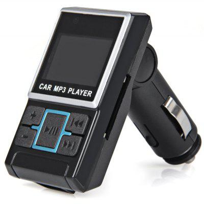 1.4 Inch LCD Screen Foldable Playing Multifunction Remote Control Digital Car MP3 Player FM Radio USB Charger Support TF Card/SD Card Expansion