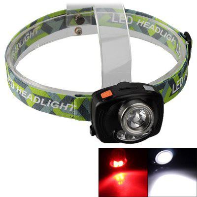 SingFire SF - 633 Headlamp CREE XP - E R2 White + 4 - LED 200LM 4 - Mode LED Light (3 x AAA)