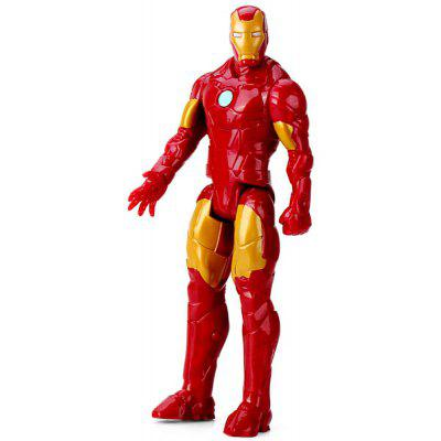 Cute American Hero 11.5 - inch Iron Man PVC Figure Model (Red with Golden)