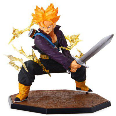 Collective Edition Anime Model Dragon Ball Battle Edition Trunks Toy Collectable Figure for Children