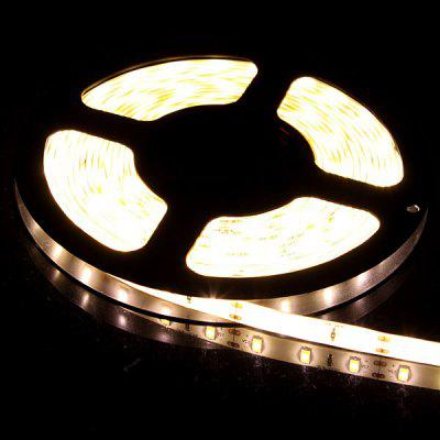 5M 60W 300 - SMD 5630 LED 1300lm Warm White 3000 - 3500K IP65 Waterproof Car Decoration Light Strip